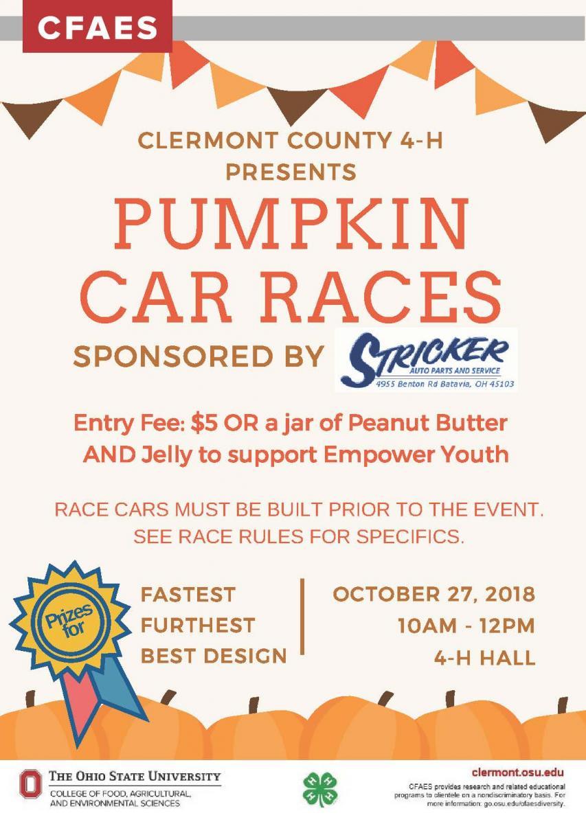 Pumpkin Car Race